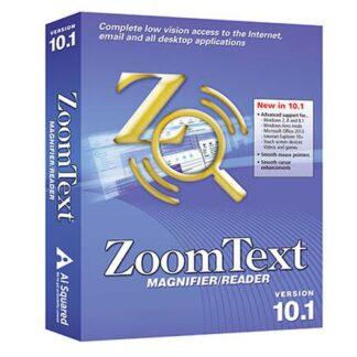 ZoomText Magnifier/ScreenReader Software ESD
